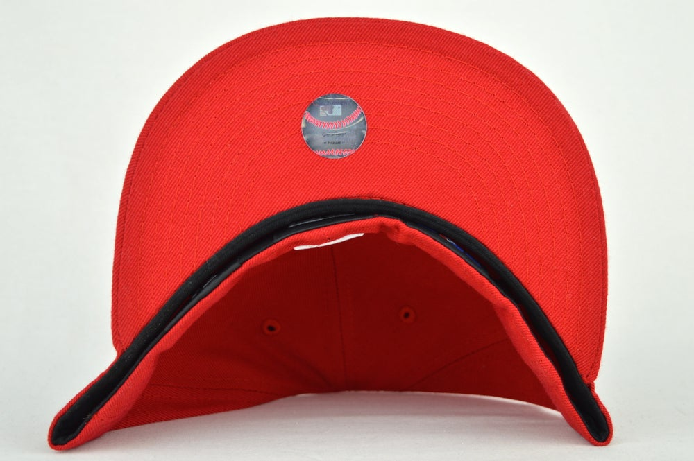 Image of TORONTO BLUEJAYS SPRING TRAINING RED/WHT NEW ERA FITTED CAP