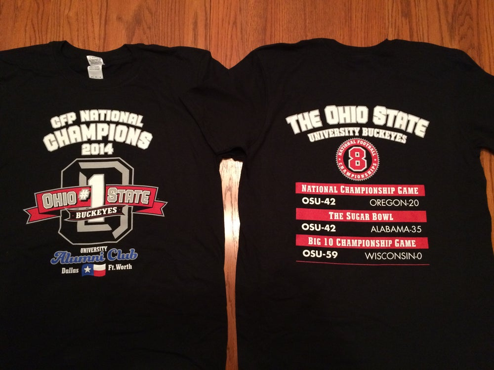 Image of OSU Alumni Club of DFW Championship Tees