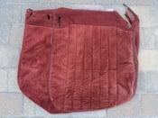 Image of Caprice driver bottom seat cover oem original burgandy or blue