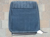 Image of Caprice seat back cover for driver or passenger in colors burgandy or blue