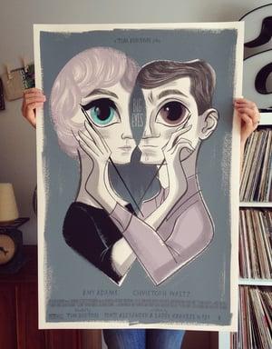 Big Eyes Mondo Artist Print
