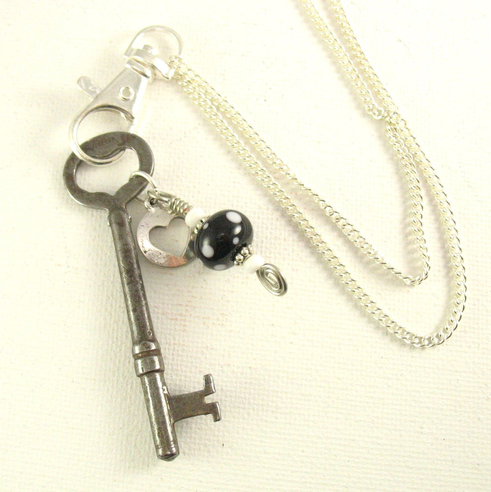 Skeleton key pendant with chain an eclectic mix of eco friendly skeleton key pendant with chain aloadofball Images