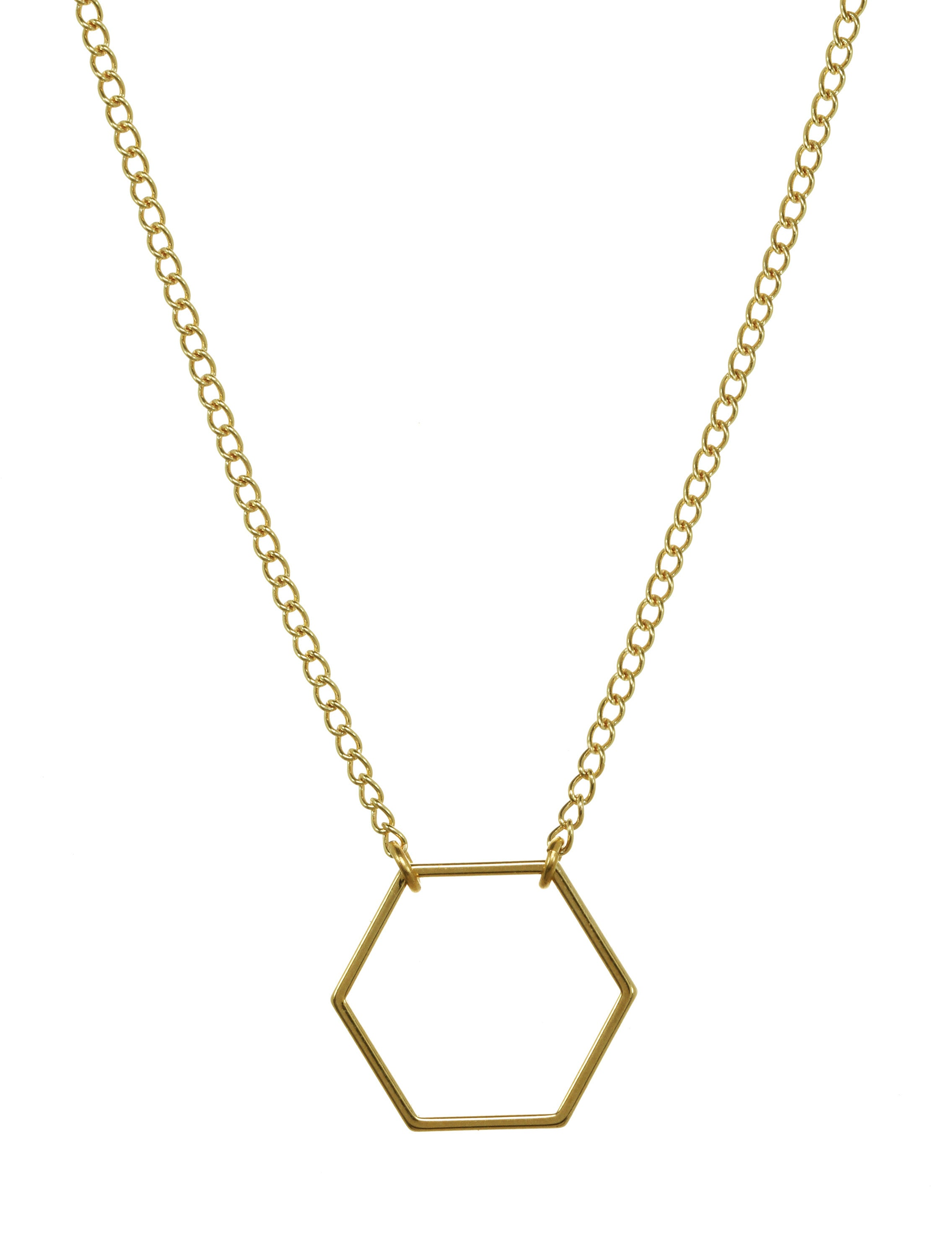 we see stars jewelry — HEXAGON necklace
