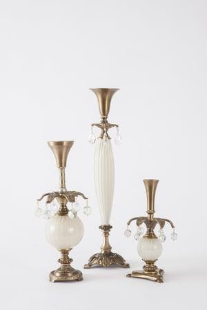 Classico Candlesticks - harlequin light