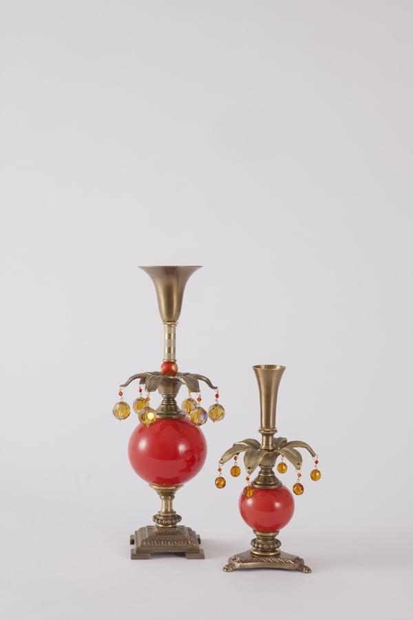 Dazzler 2 Candlesticks - harlequin light