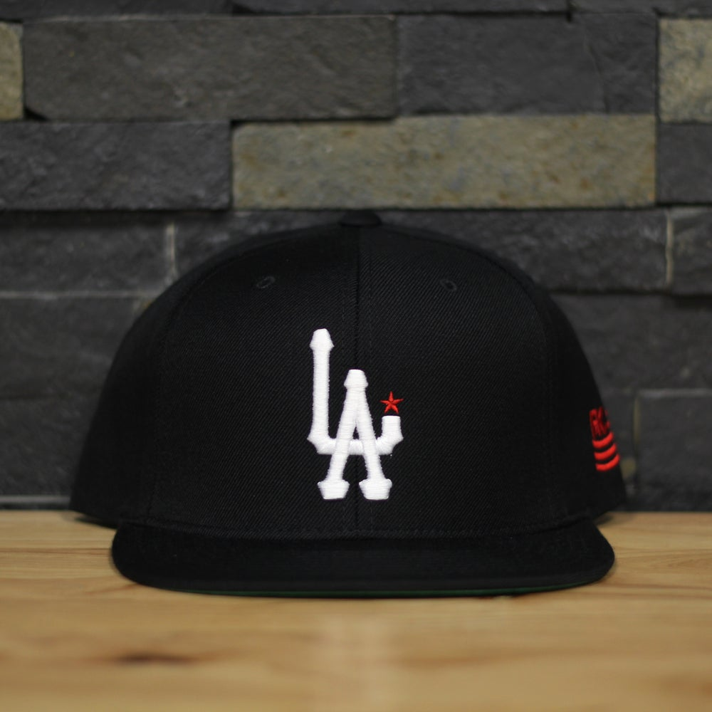 Image of L.A. - Black/white/red