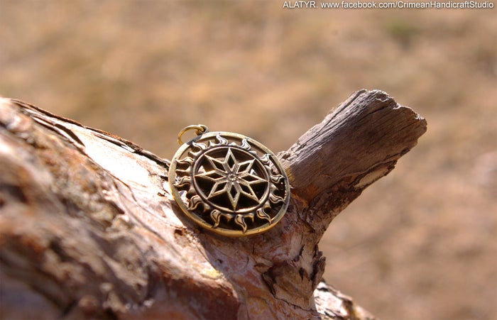 MAGIC ALATYR : SLAVIC PROTECTION AMULET - FORSALE
