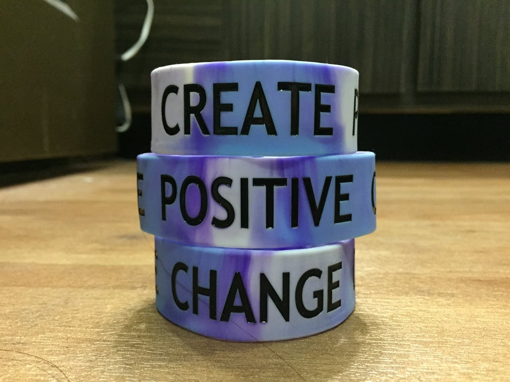 Image of CREATE POSITIVE CHANGE Bracelet