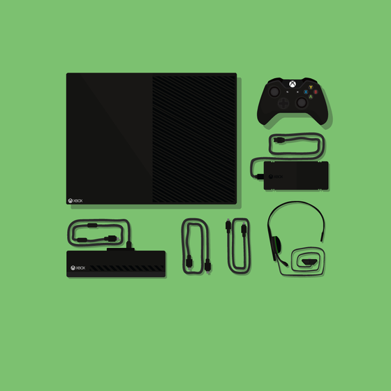 Image of Xbox One Illustration (30cm x 30cm)