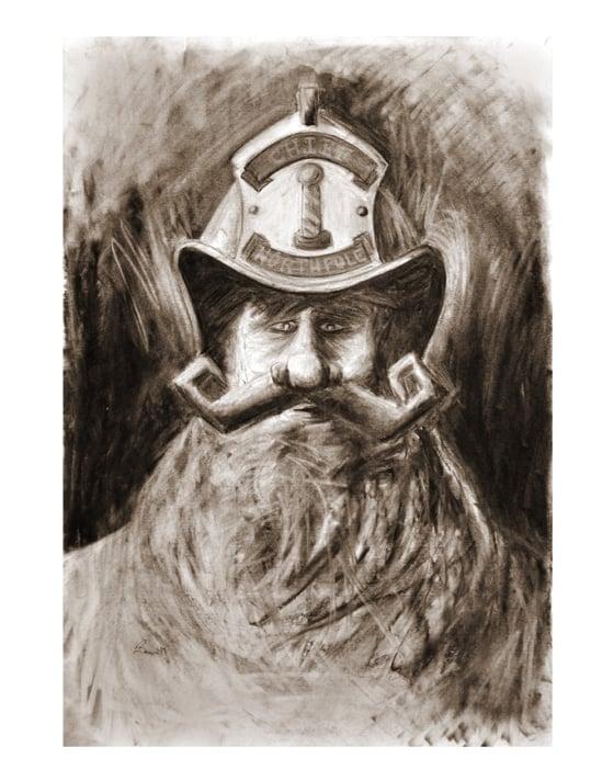 Image of Fire Chief Santa