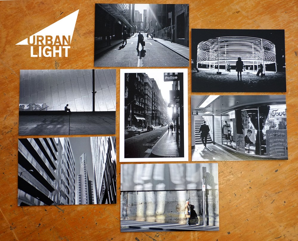Image of Urbanlight Melbourne Postcards