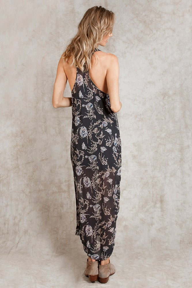 Image of SALE Chan Luu Floral Print Maxi Dress