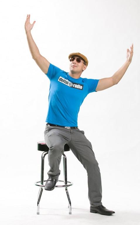 Image of DEFTAL Radio T-Shirt