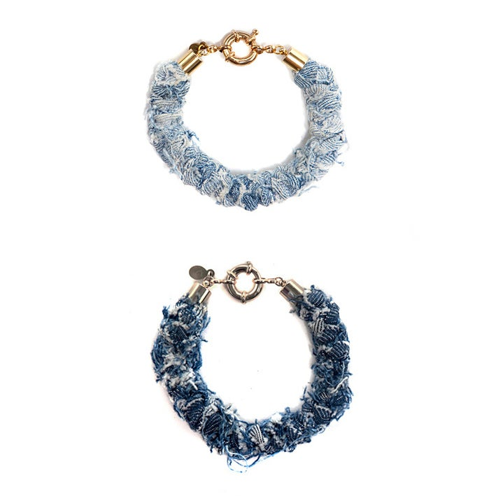 Image of REworked Denim Bracelets