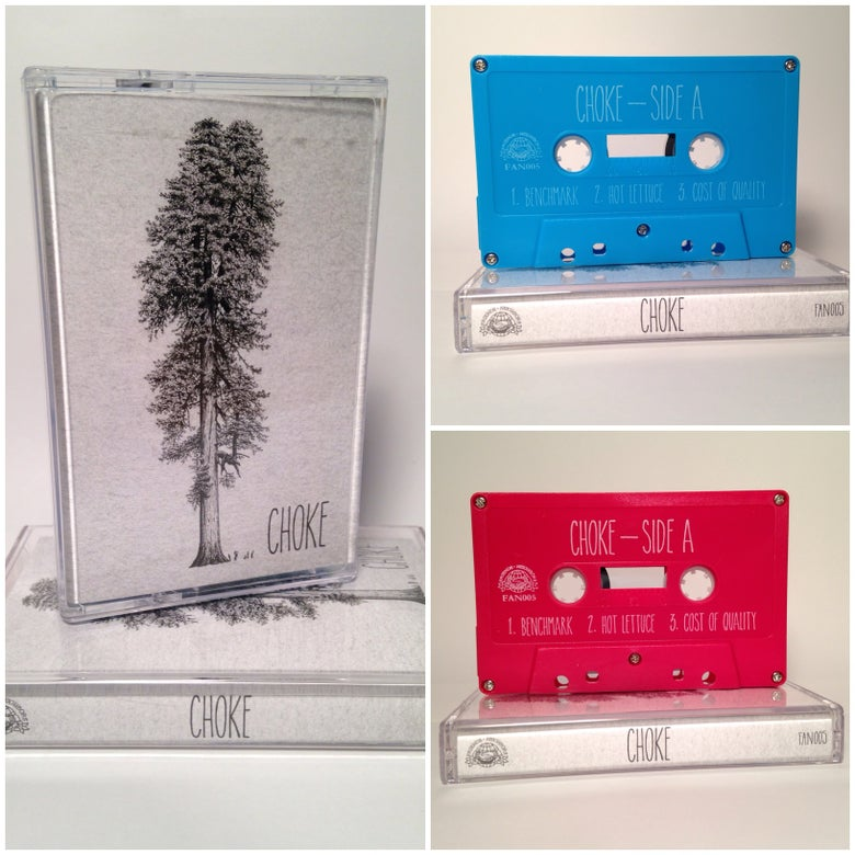 Image of Choke - S/T Cassette