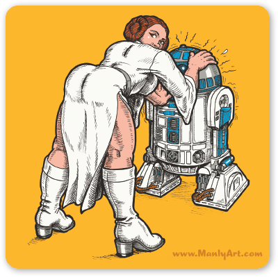 Image of Crumby Leia Sticker