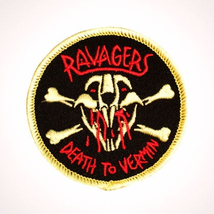 Image of RAVAGERS - DEATH TO VERMIN PATCH