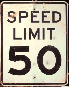 Image of Speed Limit Sign