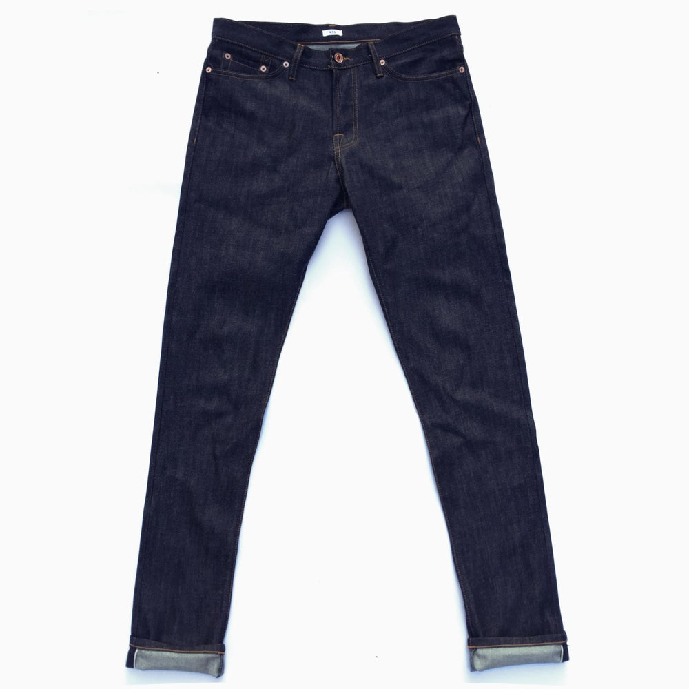 Image of M.S.S. Slim 101 CNE Raw Selvedge Jeans