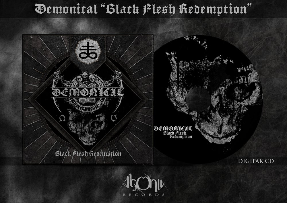 Image of Black Flesh Redemption digipak-MCD