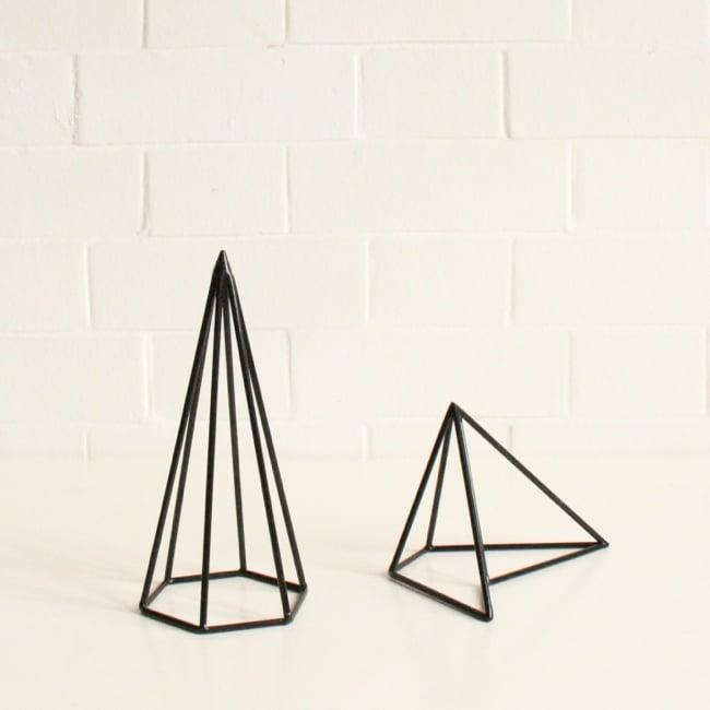 Image of Black geometric shapes