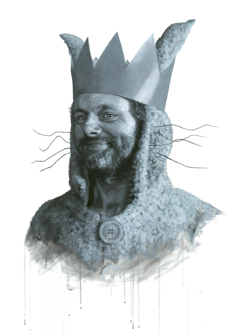 Michael Sheen as Max from Where The Wild Things Are // Limited Edition print