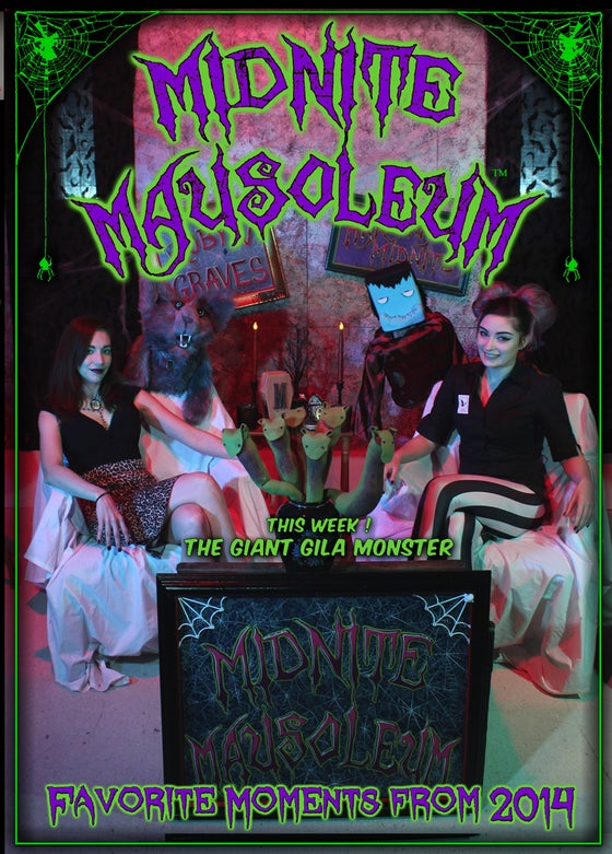 Image of *NEW* MIDNITE MAUSOLEUM TV 2014 Favorite Moments DVD