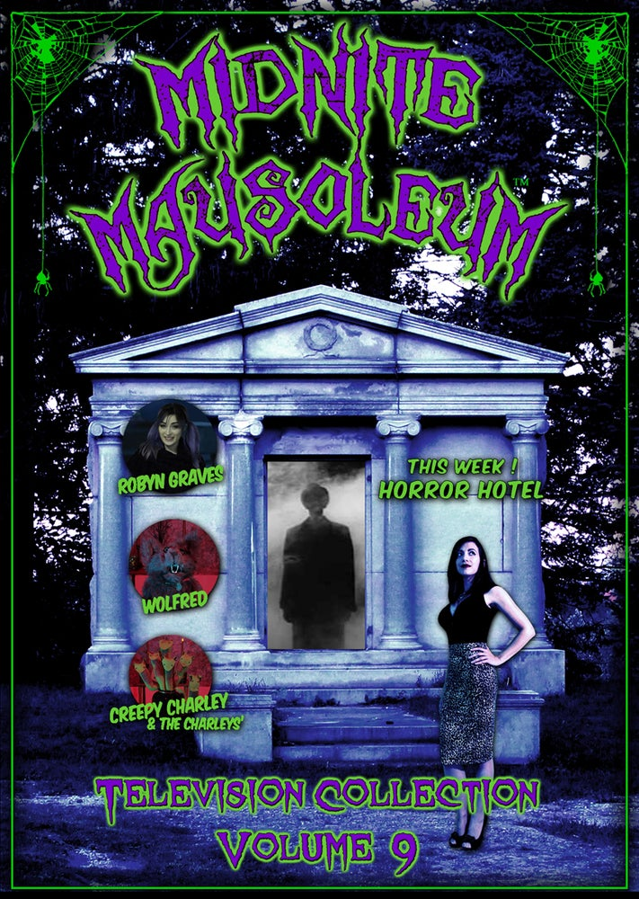 Image of *NEW* MIDNITE MAUSOLEUM TV Collection #9 DVD