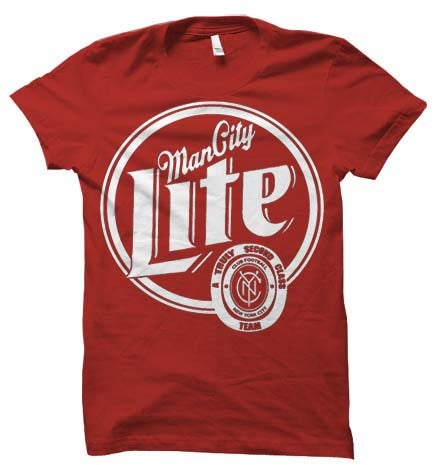 Image of Man City Lite Red