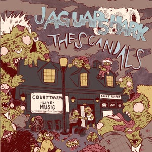 Image of Jaguar Shark / The Scandals Split 7""