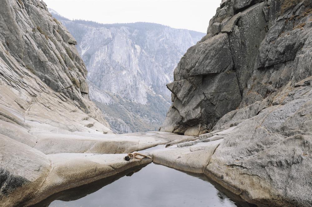 Image of Yosemite Waterfalls Nude (1)