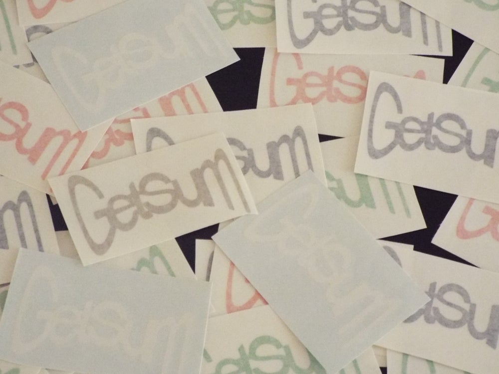"Image of 4""W GETSUM stickers"
