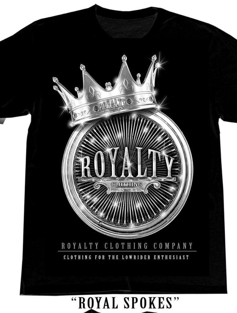 Image of royal spokes