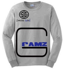 "Image of Long Sleeve ""GRAMZ"" tee"