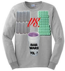 Image of Bar Wars Vol .1  Grey