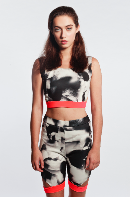 Image of Anissa Neon Crop Top