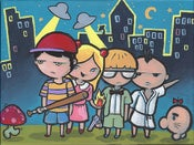 Image of Earthbound (Mother 2) - original acrylic painting