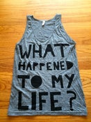 Image of WHTML Heather Grey Tank Top