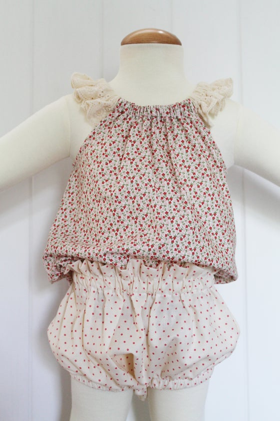 Image of Cherry Dot - High Waisted Bloomers