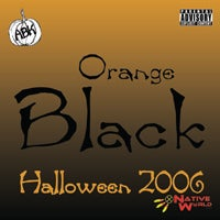 Image of Orange Black 2006 - Black