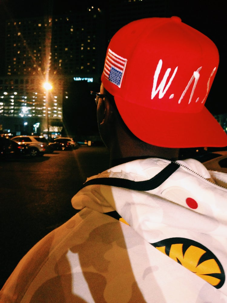 Image of WΛS Red Snapback