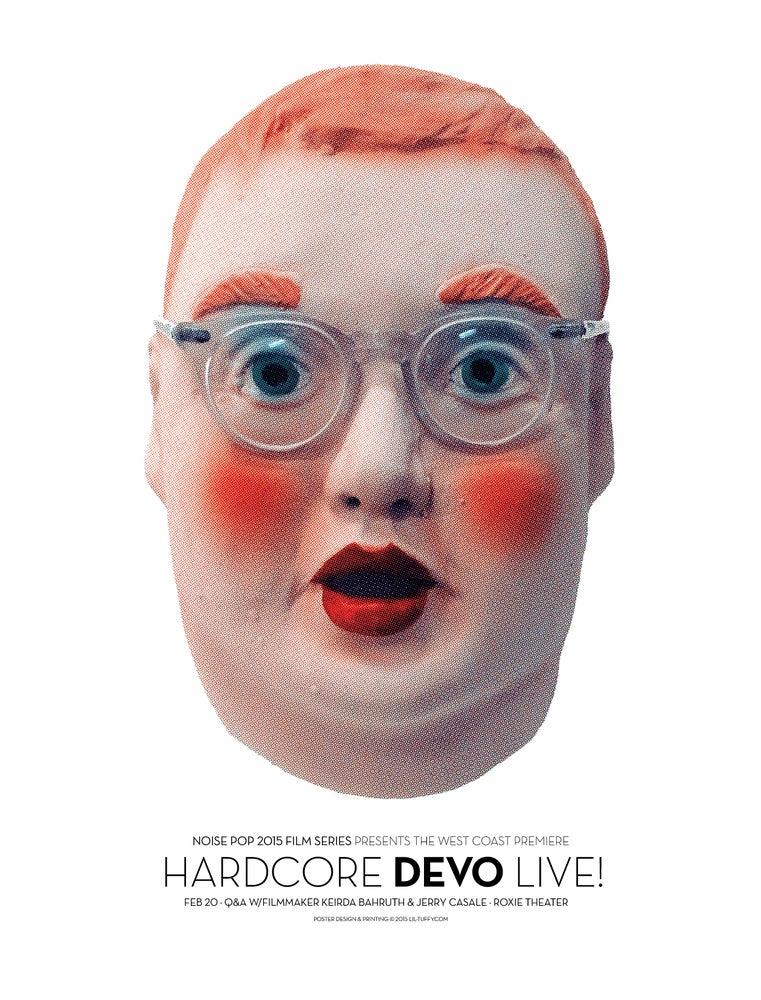 Image of Hardcore Devo Live Film Premier - San Francisco 2015