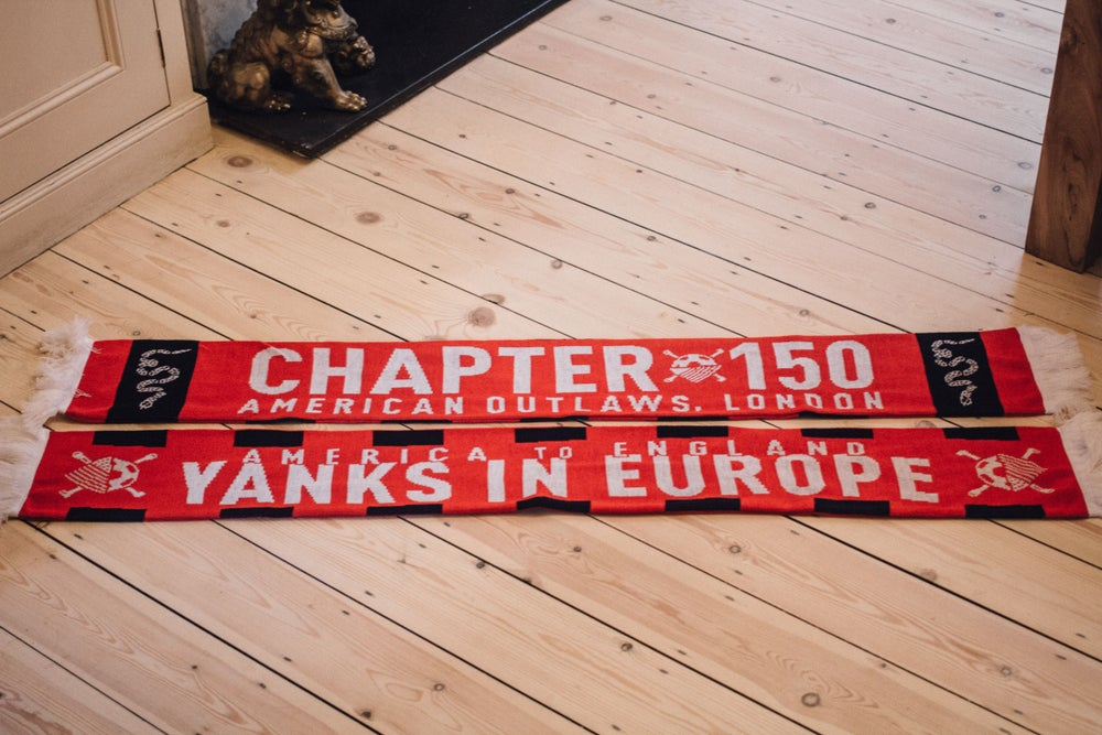"Image of Chapter Scarf 001 - ""Yanks in Europe"""
