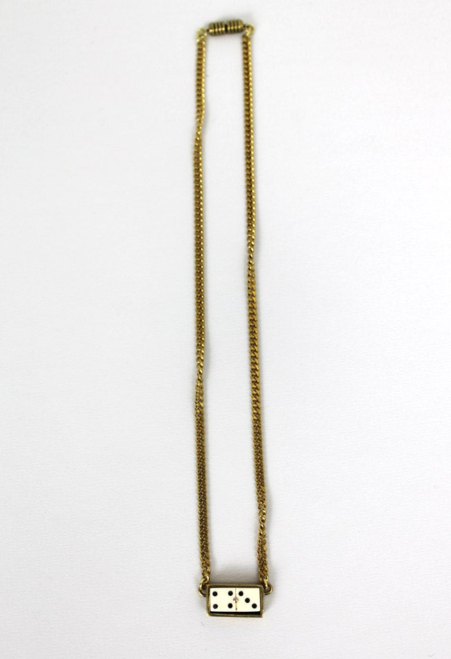 Image of DOMINO NECKLACE