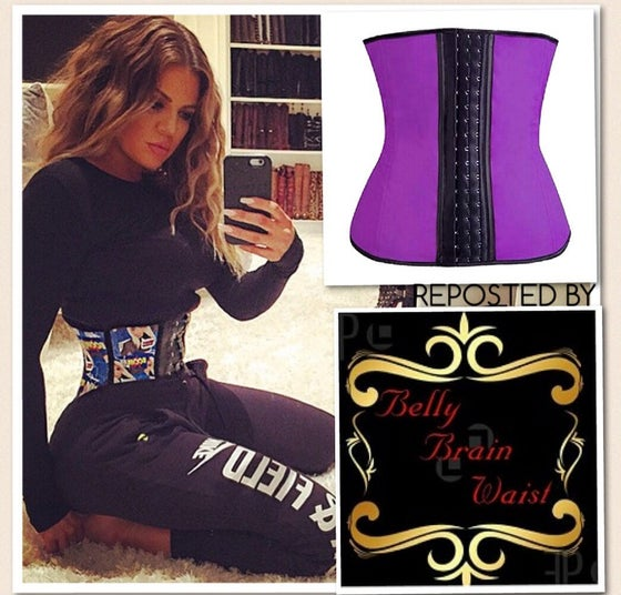 Image of KHLOE KARDASHIAN WAIST TRAINING inspired WAIST SHAPER ALL SALES FINAL