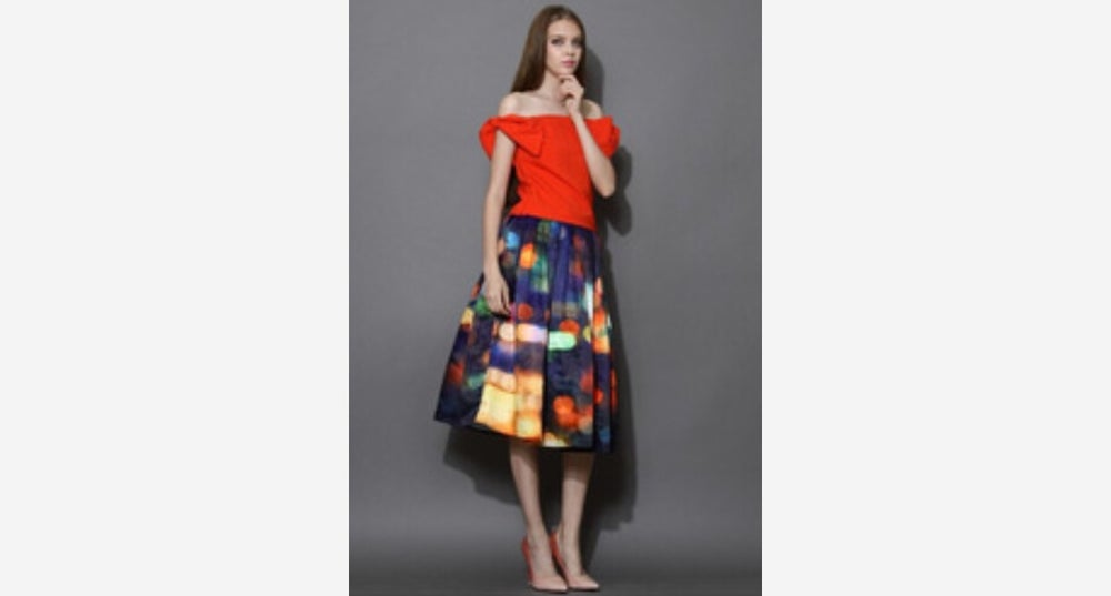 Image of Lights Camera Action Skirt