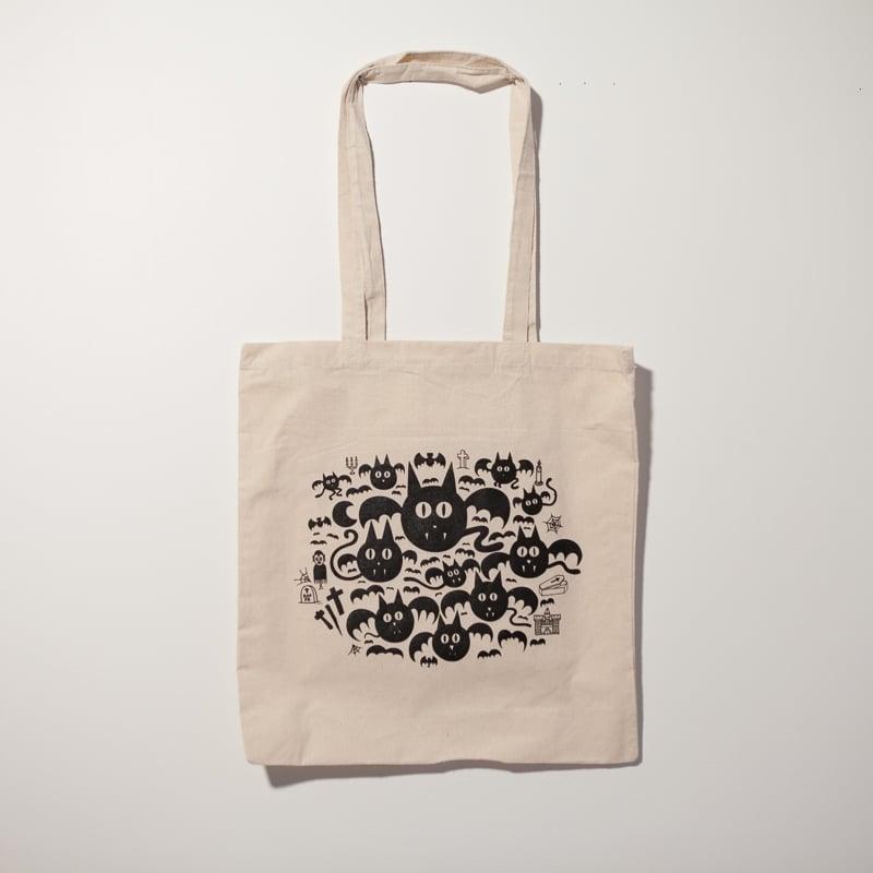 "Image of Tote bag ""Vampos"" par Grems"