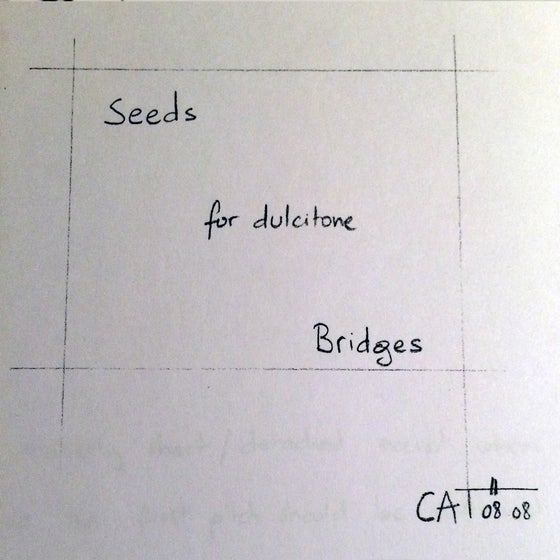 Image of SEEDS/BRIDGES - TWO MINIATURES FOR DULCITONE OR PIANO