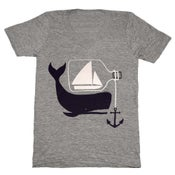 Image of Ship Whale & Bottle - VNeck XXS