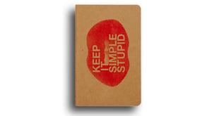 Image of Keep It Simple Stupid Notebook